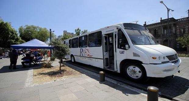 La Fiera de Puebla cuenta con transporte gratuito de ida y vuelta