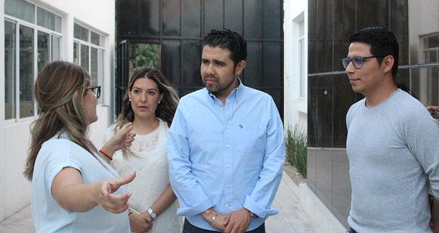 Casa estudiantil de Antorcha pide apoyo a funcionario de SGG