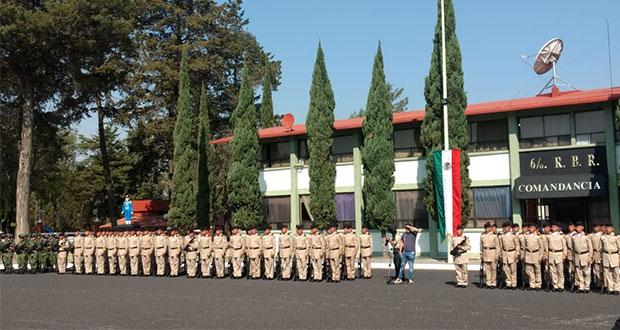 107 jóvenes concluyen servicio militar y se gradúan