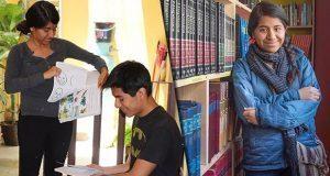 Estudiante de la UNAM crea biblioteca comunitaria en la Sierra Mixe