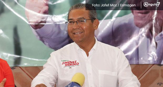 Si Cárdenas judicializa la elección, Puebla se detendría, critica Jiménez