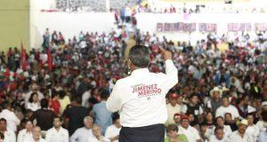 Jiménez Merino cierra campaña y pide a indecisos sumarse a su propuesta