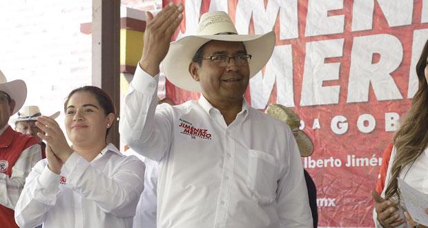 """Jiménez Merino plantea hacer potencia agrícola al """"Triángulo Rojo"""""""