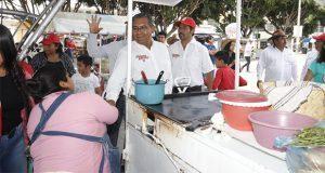 Jiménez Merino propone entregar apoyos a emprendedores