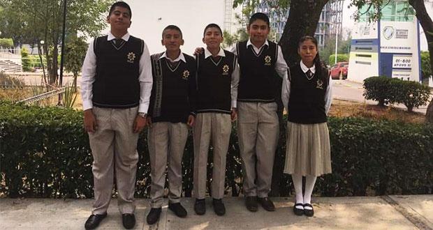 Alumnos de Tehuacán, rumbo a Espartaqueada nacional de Antorcha