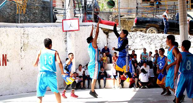 Antorcha lanza convocatoria para torneo de básquetbol en Huitzilan