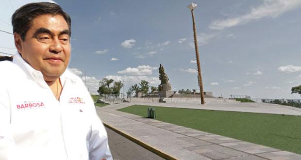 Anuncia Barbosa cierre masivo de campaña en Plaza La Victoria el 26 de mayo