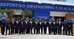 Atletas de la BUAP obtienen 12 medallas en Universiada Nacional