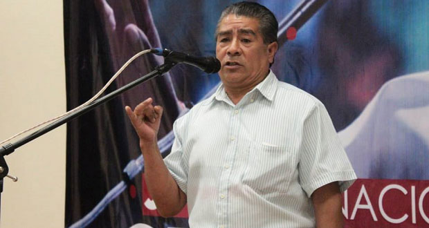 Campesino de Hueyapan, 2º lugar en jornada de oratoria de Antorcha