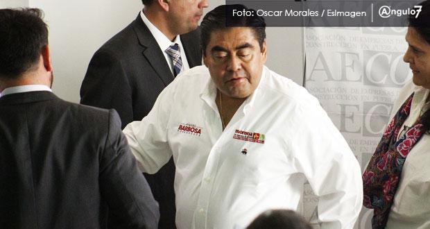 Barbosa denunciará en INE a Zapopan por publicar en redes eventos de Cárdenas