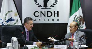 CNDH y Conalep buscan erradicar la violencia escolar en planteles