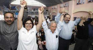 Inicia Enrique Cárdenas cierres de campaña regionales
