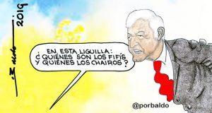 Caricatura: AMLO y la liguilla
