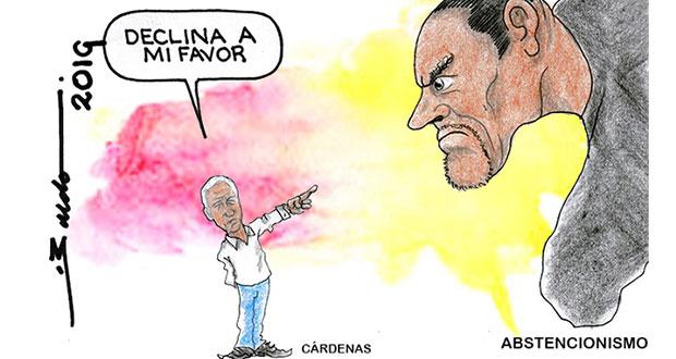 Caricatura: La ilusión de Cárdenas