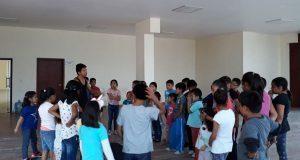 Casa de cultura en Balcones del Sur ofrece clases gratis de karate