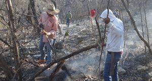 Sofocan 3 incendios forestales y combaten uno en Puebla: SGG