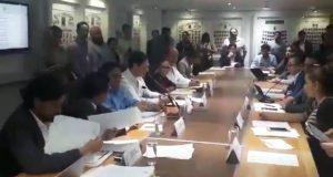 Comisiones del Congreso aprueban Ley de Mejora Regulatoria estatal. Foto: Twitter / @CongresoPue