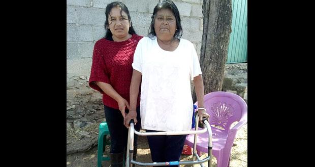 Comuna de Tepexi entrega aparatos ortopédicos a grupos vulnerables