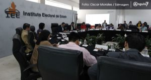 En el IEE, protestan por facilidades en proceso para formar más partidos