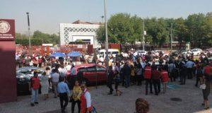 Desalojan y cierran Palacio de Justicia Federal por amenaza de bomba
