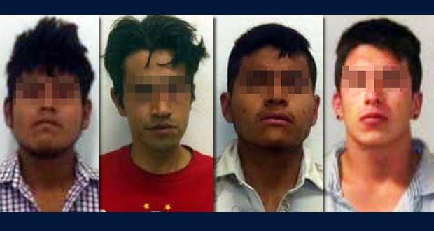 """Detienen a 4 relacionados con """"El Grillo"""", presunto narcomenudista"""