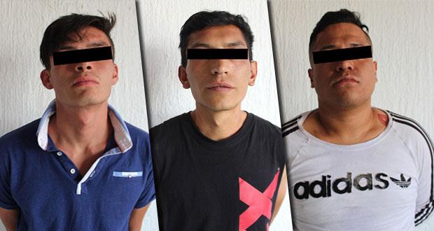 Detienen a cuatro hombres por robo a usuarios de la ruta 14