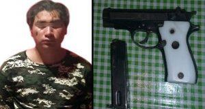 Detienen a hombre por portación ilegal de arma en Tulcingo del Valle