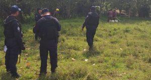 Elementos estatales y federales sellan toma clandestina en Xicotepec