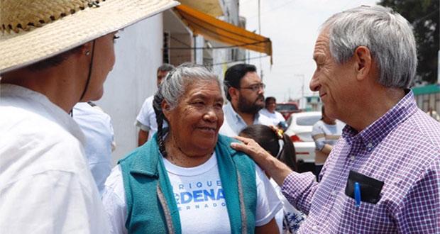 Cárdenas propone impulsar la cadena productiva del campo poblano
