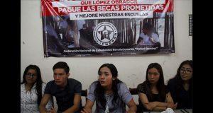 """Fnerrr marchará en CDMX para exigir pago de becas """"Benito Juárez"""""""