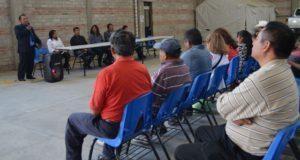 Conferencista de ONU imparte plática sobre valores en Ixcaquixtla