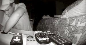 Graban a delincuentes que ingresan a robar en casa de Lomas de Angelópolis. Foto: Especial