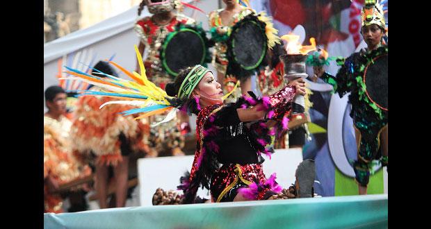Grupo de danza poblano irá a feria artesanal y cultural en Edomex