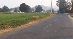 Hallan cadáver de hombre embolsado cerca de Cbtis en Atlixco
