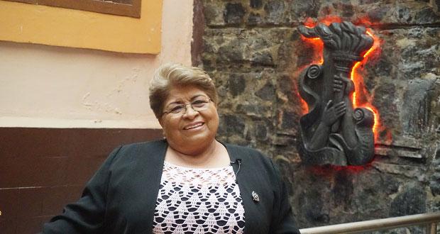 Felicita Hersilia Córdova al sector magisterial de Antorcha