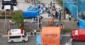 Hombre apuñala a 16 personas en Japón; hay al menos dos muertos