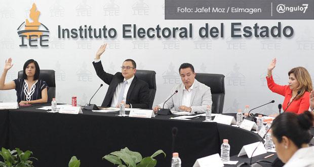 IEE aprueba bases de plebiscitos en 5 juntas auxiliares