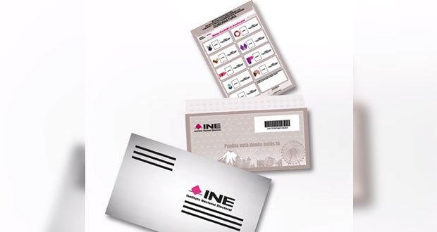 INE envía 4 mil 296 paquetes electorales a poblanos en el extranjero