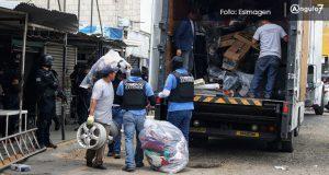 Implementan operativo contra mercancía ilícita en mercado Independencia