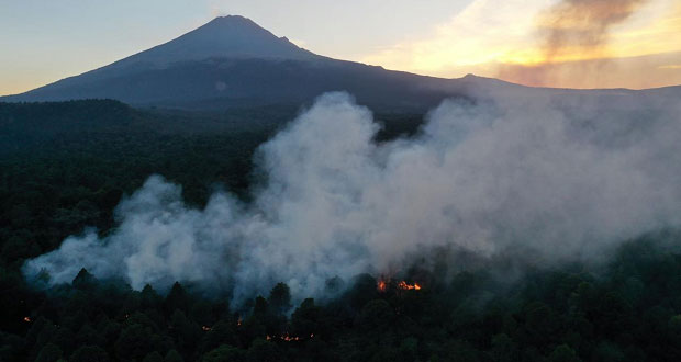 Puebla, 2º estado con más superficie afectada por incendios: Semarnat