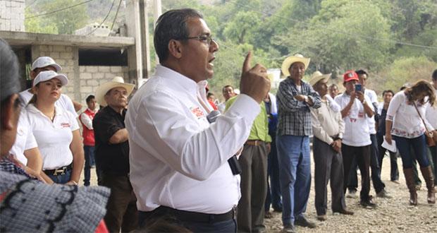 Jiménez va por recuperación de bosques y mejorar verificentros