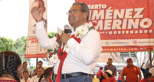 En Tlacotepec, Jiménez Merino propone crear una universidad intercultural