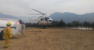 Lluvias reducen incendios forestales en Puebla