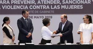 Instalan en Puebla el primer Sistema Estatal contra la Violencia a Mujeres