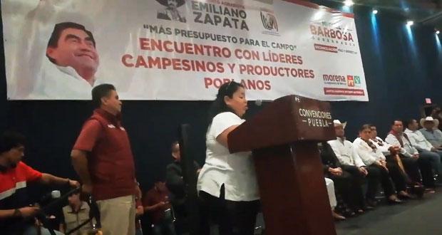 Exlíder de la CNC organiza evento a favor de Barbosa y desaíra al PRI