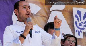 """Cortés llama a """"refrendar"""" triunfo del PAN y pide a priistas emitir voto útil"""