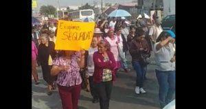 Menos personal administrativo y más policías, piden en Amozoc