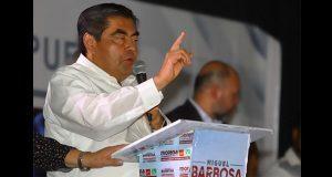 Quitar fuero y revocación de mandato, anuncia Barbosa de llegar al gobierno