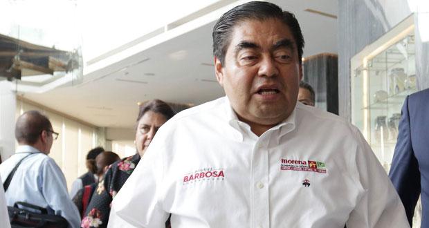Barbosa crearía red de empresarios para atraer inversiones a Puebla