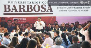 En un mes se desmoronó el morenovallismo: Barbosa